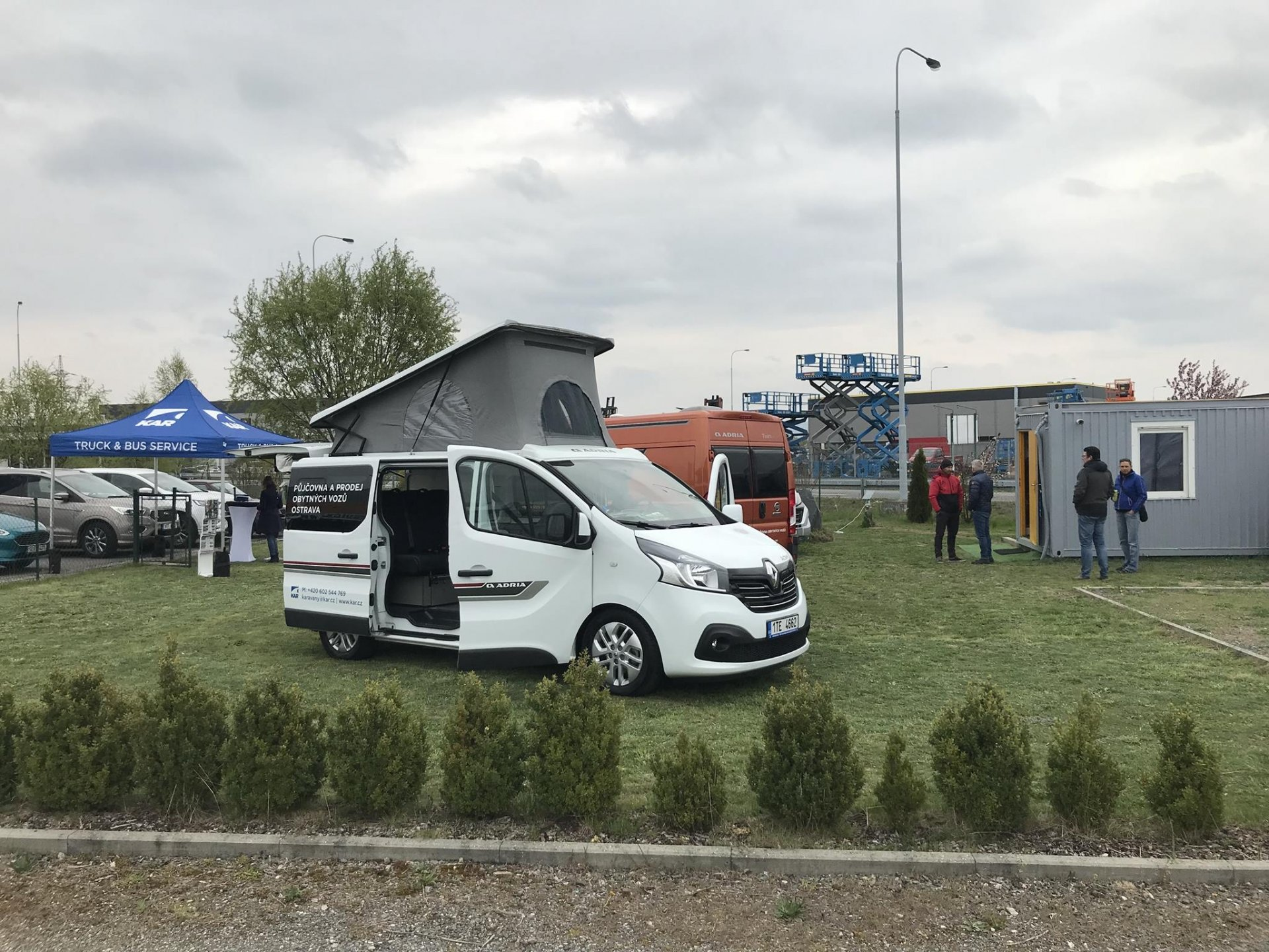 Otevřeli jsme novou půjčovnu obytných aut v Olomouci