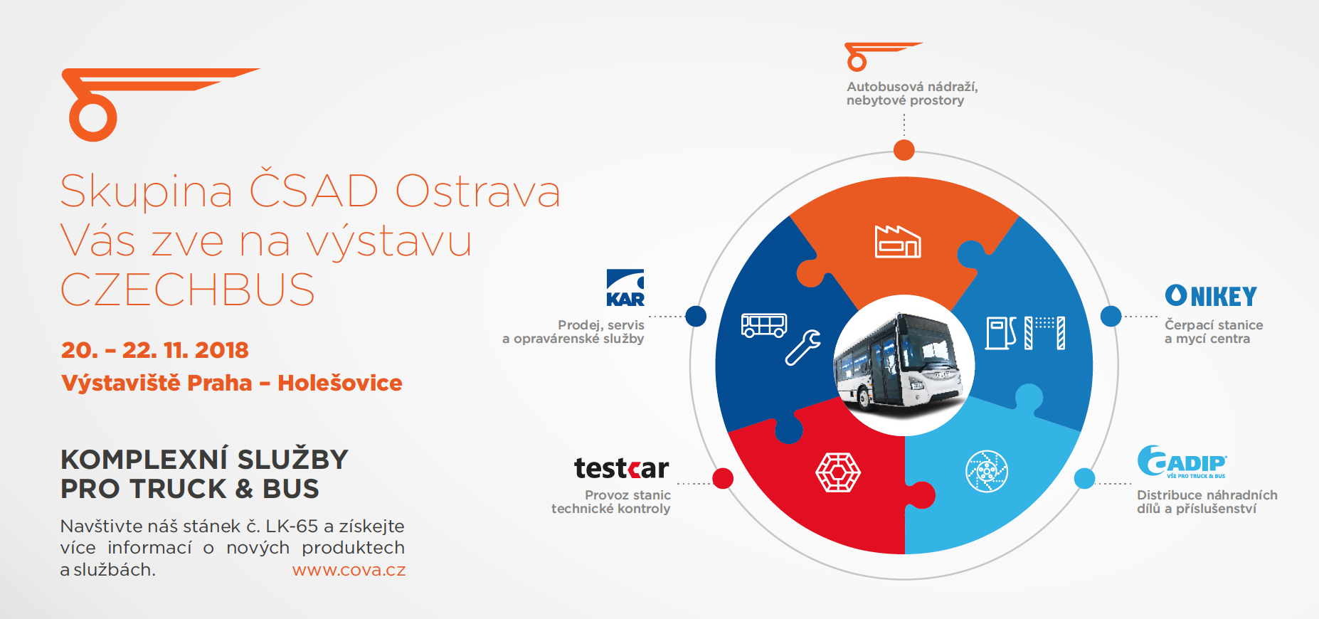 ČSAD Ostrava na CZECHBUS 2018