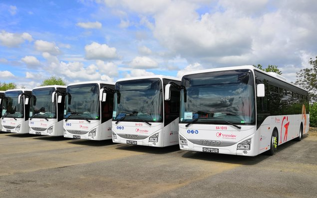 KAR group dodal společnosti Transdev Morava autobusy IVECO Crossway